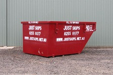 4m3 - image of 4 cubic meter skip bin available at competitive skip bin prices
