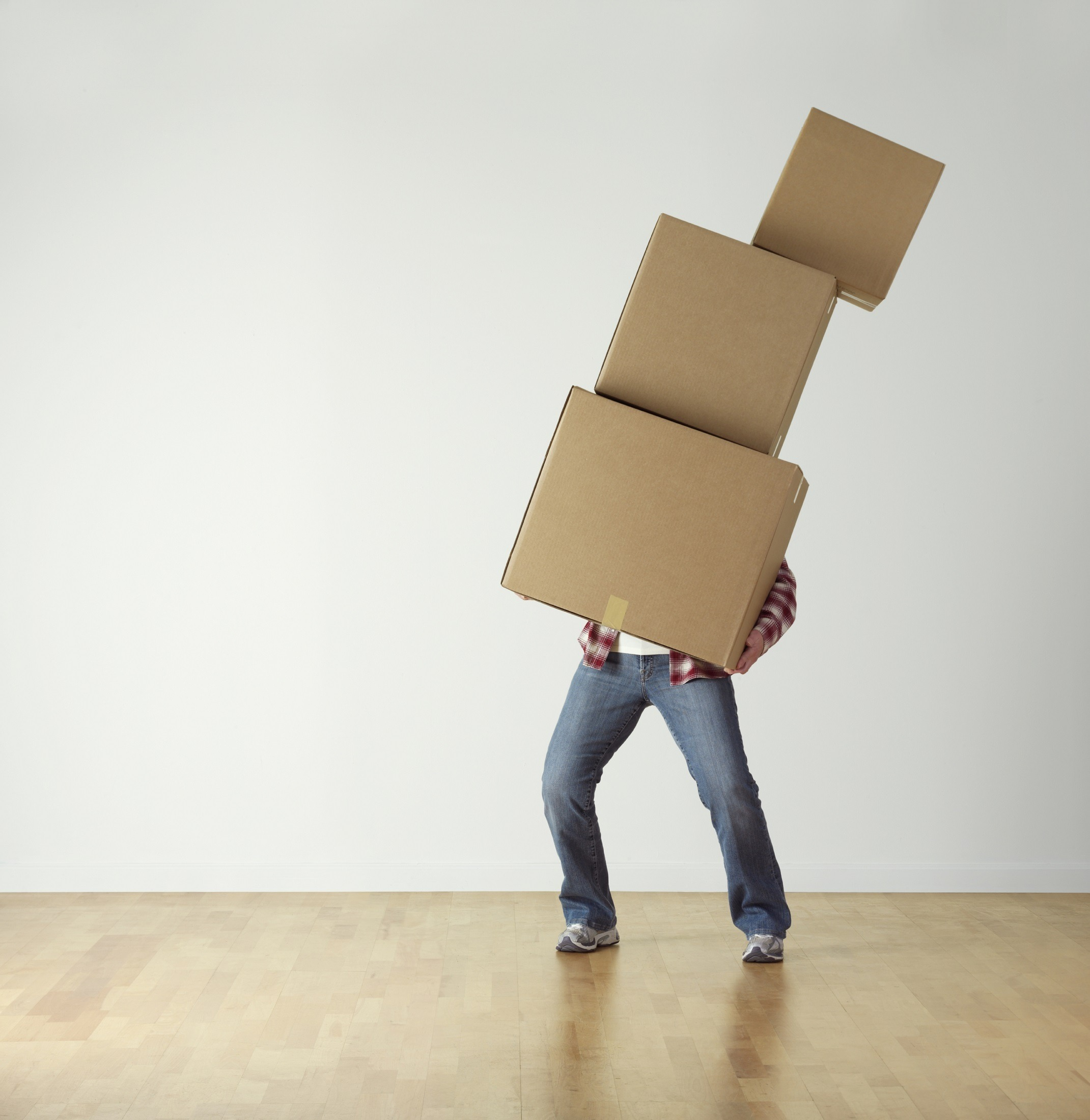 man moving offices and following our office move checklist