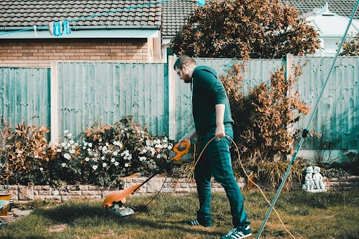 How to clear out a garden